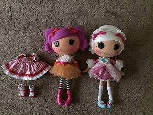 Lalaloopsy Dolls with extra outfit