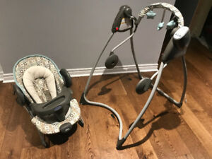 Graco 3 in 1 swing, bouncer, vibrating chair