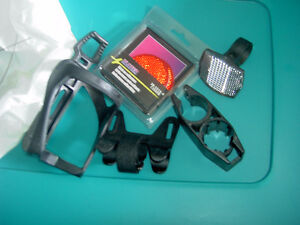 Assorted Bicycle Parts // Seats // Pac-Safe Steel Wire Mesh