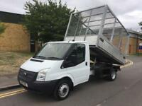 2013 Ford Transit 2.2 TDCi 350 Cage Caged Tipper Manual Tipper