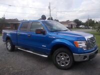 2011 Ford F-150 4 door 4X4 XTR Pickup Truck LOW MILAGE!