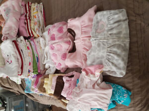 Baby clothing girls 0-6 months