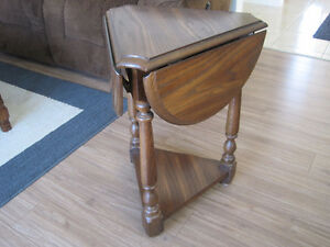Drop Leaf Side Table (2 available)