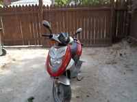 For sale is a 2005 CPI Oliver scooter.
