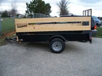 5 x 10 steel landscape trailer