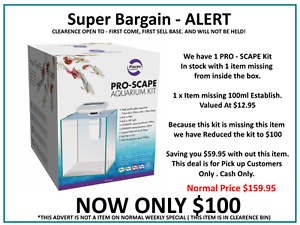 Brand New - Clearance - Pro - Scape Aquarium Kits Glebe Inner Sydney Preview