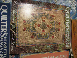 Quilters Newsletter Magazine 1981 - 1984 Complete! London Ontario image 2