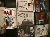 Saw dvd collection 1 - 7