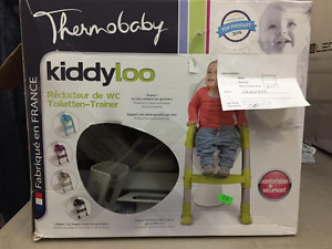 Thermobaby Kiddyloo Toilet Trainer, Green/Grey