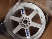 """(Price drop) Asuka Japanese racing alloys (by inovite) 5x100 5x114.3 18"""""""