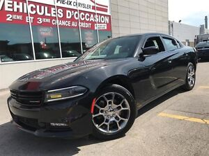 Dodge Charger AWD+RALLYE+CUIR ROUGE+TOIT+MAGS+WOW! 2015