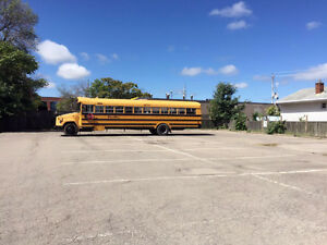$50/Month for ANY car, school bus or vehicle parking