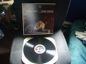 vinyl Lp Frank Sinatra/no one cares/original de capitol 33 tour