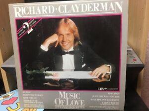 Vinyl-Richard Clayderman-Music Of Love Double Album