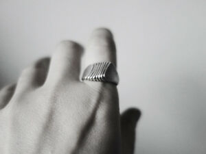 Handcrafted Ring, Unique Silver Ring, Art Jewellery by J Lim