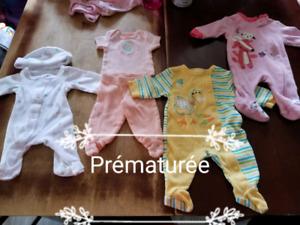 Pyjamas prématuré