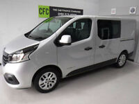 Renault Trafic 1.6dCi SPORT Crew Van 6 Seats BUY FOR ONLY £299 A MONTH*FINANCE*