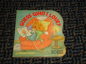 Guess Who I Love? (Pudgy Board Books) Board book Kingston Kingston Area image 1