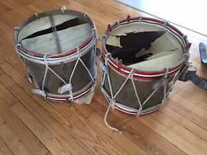 Classic Rope Tensioned Military Marching Snare Drums