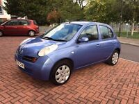 Nissan Micra 5 Door 2005 Low Mileage 43k Key less Start Excellent Runner