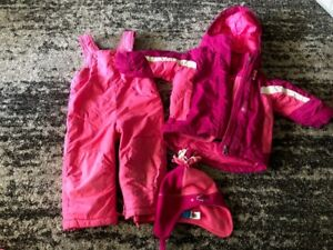 18 month size girl 3 piece snow suit