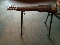 SX LG1 Lap Steel Guitar with Stand