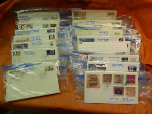 Stamp Lot - Canada 1st Day Covers 1978-1993 Excellent Condition