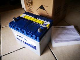 Varta car battery 12v