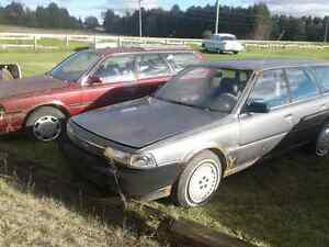 1989 Toyota  camry  wagon   PARTS   CARS !