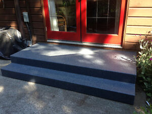 Decks Stairs Ramps & Treads that NEVER NEED RE-FINISHING
