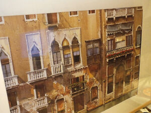 BALCONIES ON THE GRAND CANAL IN VENICE,..40'' x 28.5'' IKEA Kitchener / Waterloo Kitchener Area image 5