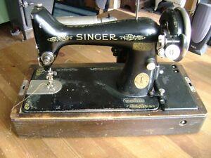 ancien machine acoudre singer 1926