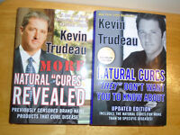 Books by Kevin Trudeau  Both $10 -