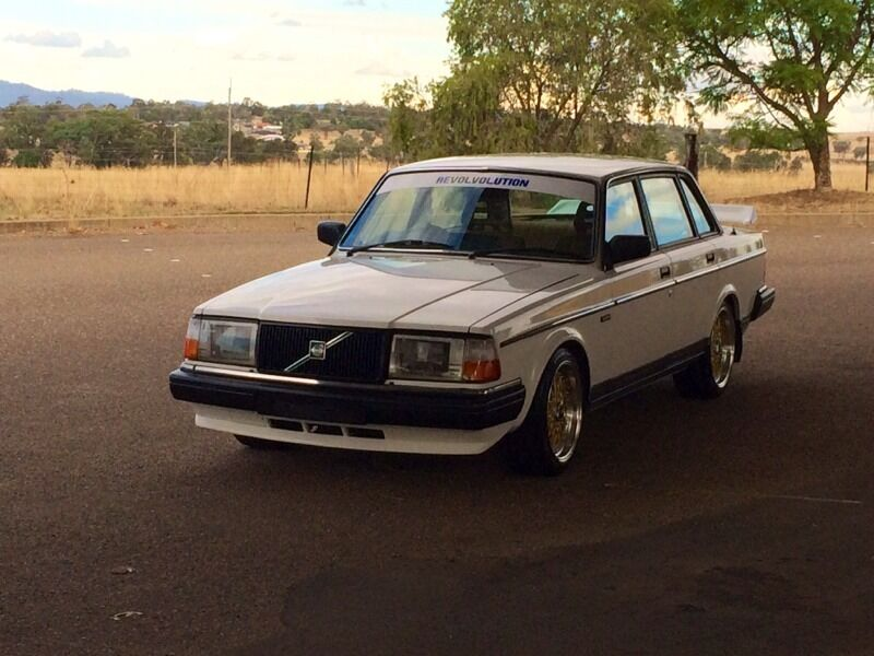 GRM\'s White 240 with BBS wheels and Grp A spoiler - RWD - Oz Volvo ...