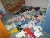 Boys clothing 0-3 months.