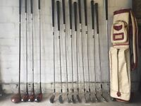Vintage Golf set VIP Jack Nicklaus Sam Snead Blue Ridge