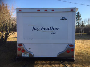 2010 Jay Feather Ultralight EXP Travel Trailer