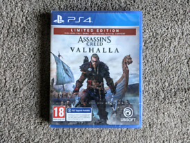 NEW PS4 PS5 New Assasin's Creed Valhalla Limited Edition Assasin Game