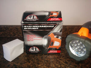 16 LED Rechargeable Spotlight - NEW, never used.