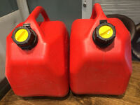 Red 10L Gas Can - 2 Available