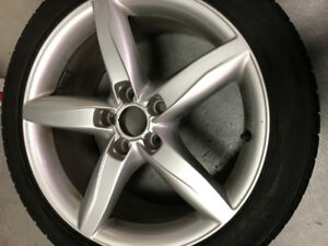 "Audi A4 18"" Wheels and Winter Tires"