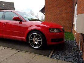 Audi A3 Sports Back 2ltr TDI ,6 gear cruise 2008 control £5500