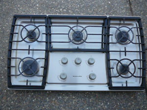 KitchenAid Propane Stovetop