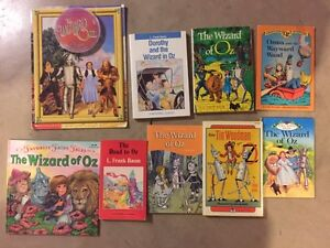 THE WIZARD OF OZ books...