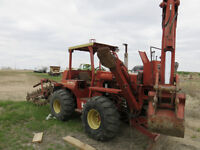 1980 Ditch Witch 6510 Tractor - Attachments Included
