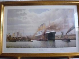 TITANIC LIMITED EDITION SIGNED BY SURVIVOR MILLVINA DEAN