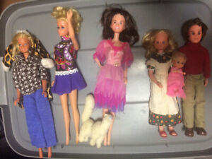 Various Vintage Dolls -Barbies, baby dolls and collectible dolls