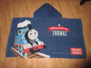 2 Thomas the Train hooded towels