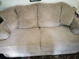 Soft brown sofa 2 seater