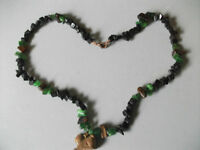 Gemstone Tigerseye Cat Necklace